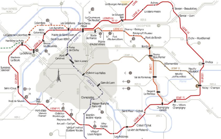 Ligne 15 du Grand Paris